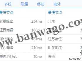 搬瓦工VPS凤凰城 1G内存 2T流量 年付$18.99 最新补货