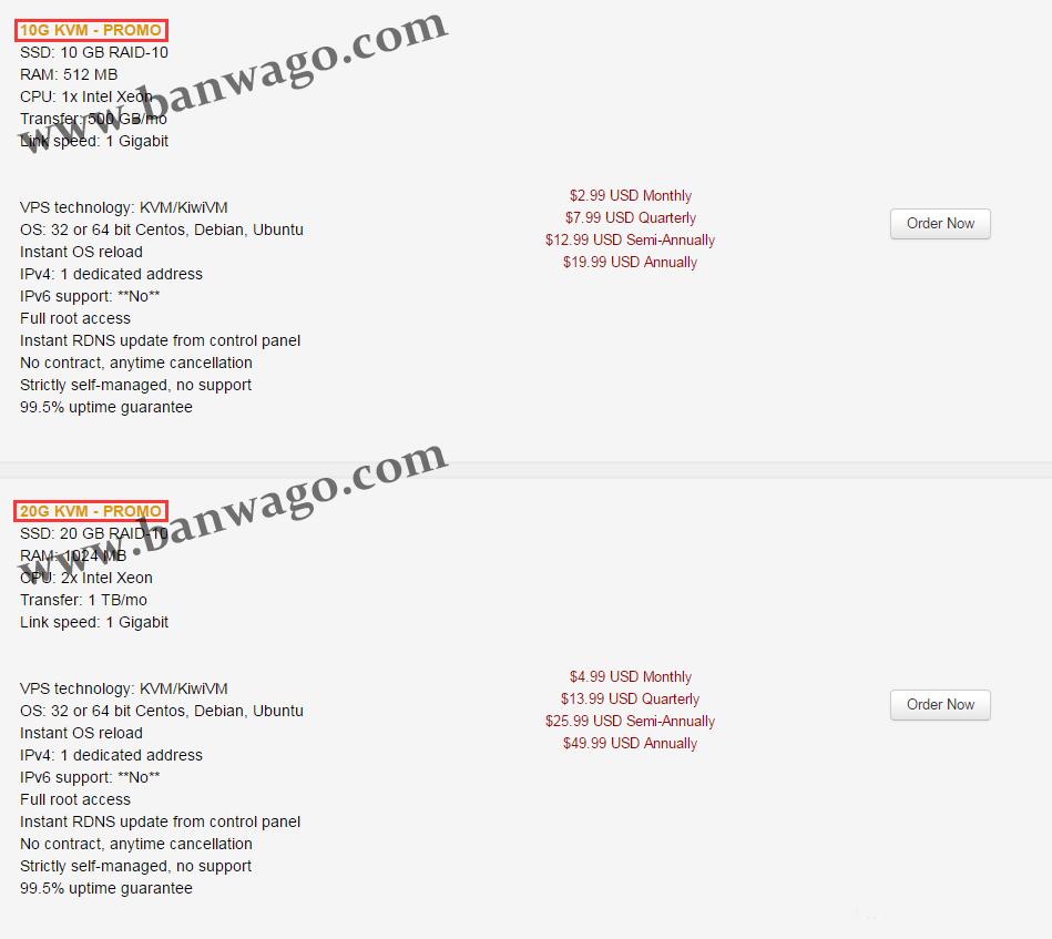 搬瓦工VPS美国洛杉矶OpenVZ系列产品与KVM系列产品对比评测