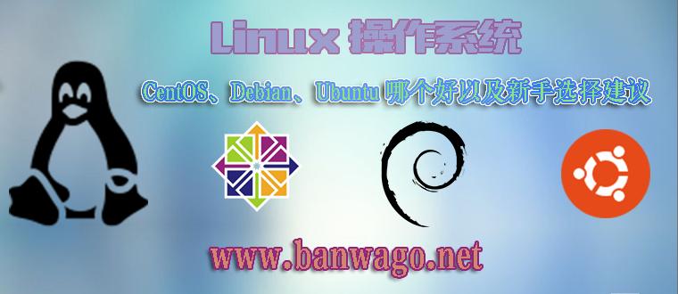Linux 操作系统 CentOS、Debian、Ubuntu 哪个好以及新手选择建议