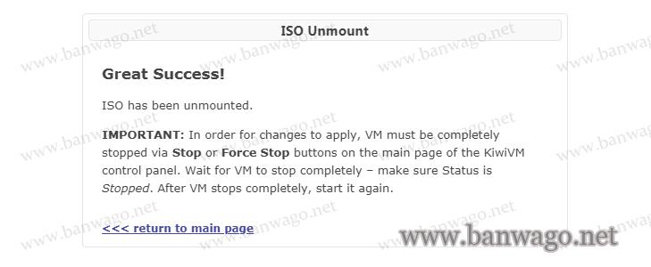 搬瓦工KiwiVM后台Mount ISO挂载自定义安装100多个系统镜像