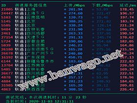 搬瓦工 CN2 GT 线路 DC3 CN2 机房国内三网(电信、移动、联通)测速