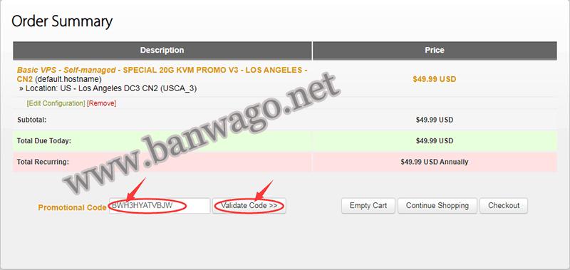 搬瓦工优惠码怎么使用,怎么使用搬瓦工优惠码获取 VPS 折扣